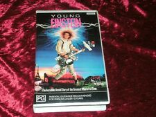 YOUNG EINSTEIN ~RARE ~ ROADSHOW VHS PAL VIDEO
