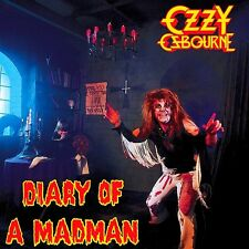 Ozzy Osbourne - Diary Of A Madman Vinyl LP Heavy Metal Sticker, Magnet