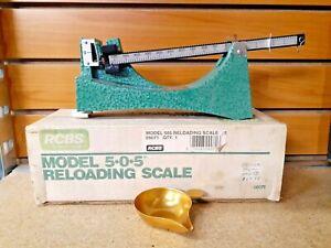RCBS Model 5-0-5 505 Reloading Powder Scale