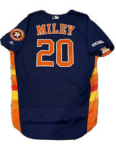 MLB Authenticated - Wade Miley PITCHED 6 Innings & WON In This Astros Jersey!!