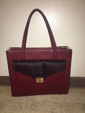 NWT Kate Spade Burgandy Fall Bag Purse