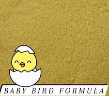 Handfeeding Formula For ALL Baby Birds Bird Food Repacked! *You Choose Size*