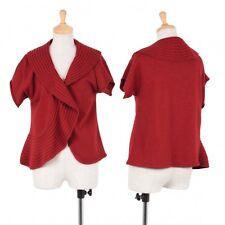 agnes b. Short Sleeve Knit Cardigan Size 2(K-46785)