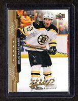 2018-19 Upper Deck MVP #3 Brad Marchand Boston Bruins Hockey Card MINT