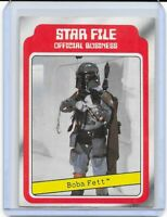 1980 Topps Empire Strikes Back Series 1 Boba Fett RC Mandalorian Star Wars #11