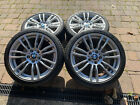 Genuine BMW F30/F31 3 series 19 403M Wheels with Winter tyres