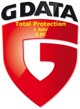 G-Data Total Protection - Total Security 1-Jahr 3-PC