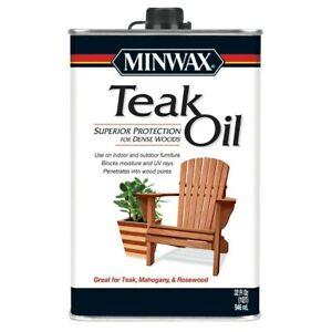 Minwax Teak Oil Clear Teak Oil  32-fl oz