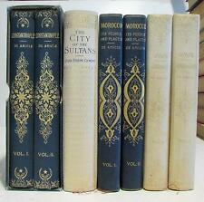 Morocco Spain Constantinople Sultans 1900 collection of 7 fine illustrated books