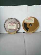 2 Vintage  Reel to Reel Film DISNEY CARTOONS AND ROCKET AND ROLL IN Cases