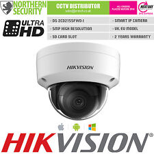 Hikvision 6mm 5MP 1080P WDR VCA POE EXIR SD-CARD IP67 Smart Mini Dome IP Camera