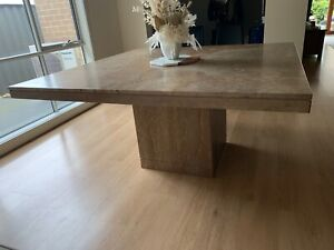 Solid Stone Dining Table  (8 Seater) Indoor or Outdoor table