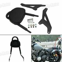 Backrest Sissy Bar Pad For Yamaha Star Bolt XV950 Bolt XVS950 950 14-17 Black