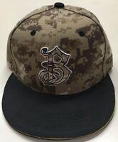 Bradenton Marauders Camouflage SnapBack Baseball Hat MiLB MLB Pirates Camo HOT!