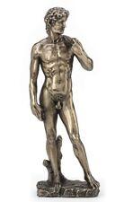 "8"" King David by Michelangelo Statue Greek Roman Sculpture Museum Figurine"