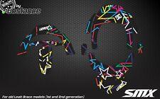 Sulfametazolo grafiche per LEATT BRACE Protezione collo Adesivi Decalcomanie Motocross GPX Club
