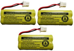 NEW! Battery BT183342 / BT283342 for Vtech AT&T Cordless Telephones (3-Pack)