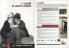 I CORTI - C. CHAPLIN - 2 DVD (NUOVO SIGILLATO)