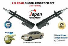 FOR TOYOTA CAMRY 2.4 3.0 V6 2001-2006 NEW 2x REAR SHOCK ABSORBER STRUT SHOCKER