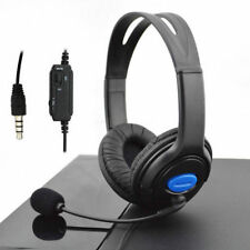 Wired PC Game Gaming Headsets Headphones With Mic for Ps4 Sony PlayStation 4