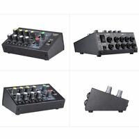8Channel Sound Digital Mixer Microphone Mixing Console Mono/Stereo Mono/Stereo x