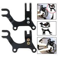 Supporto di montaggio adattatore per telaio con freno a disco bici regolabileTW