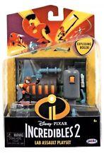 NIP NEW Disney Pixar The Incredibles 2 Elastigirl Lab Assault Playset