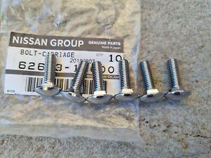 Nissan B10 B110 B120 Sunny bumper bolts NEW Datsun 1000 1200