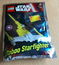 LEGO SET star wars POLYBAG FIGURINE MINIFIG NEUF VAISSEAU NABOO STARFIGHTER