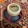 "McKenzie Red Chassis Label 12"" Speaker Driver w/ Celestion Creamback Cover"