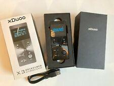 Xduoo X3 Digital Mp3 Hifi 256Gb Lossless Sd Music Player