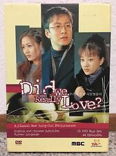 Did We Really Love? (YA Entertainment Korean Drama - Complete Series)