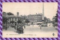 CPA 71 - Chalon sur saone - La Place de l'obelisque