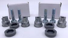 Set Of 4 Post Feet Uline Wire Shelving Bakers Rack 1 Diameter Adjustable Height