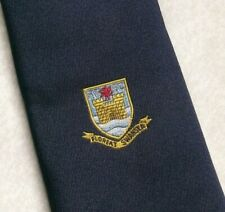 Vintage Tie MENS Necktie CRESTED Swansea Veterans Rugby Football Club RFC
