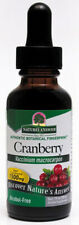 NATURES ANSWER - Cranberry Alcohol Free Extract - 1 fl. oz. (30 ml)