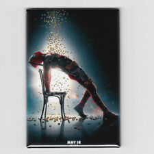 """DEADPOOL 2 / FLASHDANCE - 2""""x3"""" MOVIE POSTER MAGNET (xforce cable marvel 2018)"""