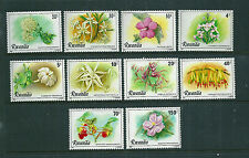 Rwanda 1981 Flowers set of 10 unmounted mint (Scott 1009-18)