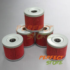 5pcs Oil Filter For Suzuki Quadracer 450 LTR450 LTR 450 Iridium 2006 07 08 2009