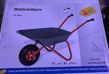 Schubkarre aus Metall Für Kinder Neu Ovp