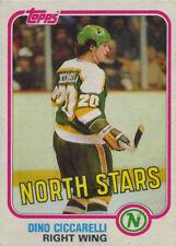 Topps Hockey 1981-82 Base Card 105 Dino Ciccarelli