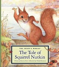 The Tale of Squirrel Nutkin (Classic Tales by Beatrix Potter)-ExLibrary