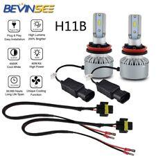 2X 6500K White H11B For Kia Optima 2007-2015 LED Headlight Low Beam w/ Cable Kit