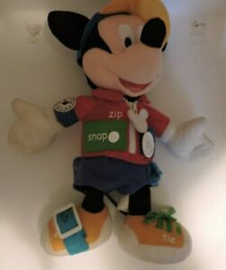 Mickey Mouse Educational Plush Talking Toy