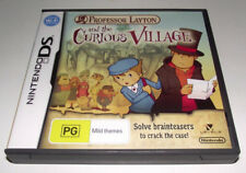 Professor Layton and the Curious Village Nintendo DS 2DS 3DS Game *Complete*