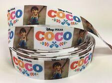 "BTY 1"" Disney Pixar Coco Movie Grosgrain Ribbon Hair Bows Lisa"