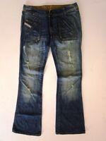 Diesel Rame Damen Jeans Hose Blau Stonewashed W29 L32