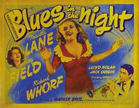 Blues in the night Priscilla Lane #1 movie poster