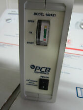 PCB PIEZOTRONICS 482A21 ICP SIGNAL CONDITIONER iepe ACCELEROMETER CALIBRATION