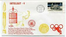 1972 Intelsat 4 President Nixon China Sapporo Olympics Apollo 16 Pacific Phone